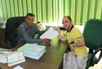 Câmara municipal repassa recursos para APAE  de Buritis