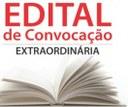 EDITAL DE CONVOCAÇÃO DE SESSÃO EXTRAORDINÁRIA Nº 001/2021