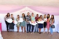 Entrega de kits Mãezinha Rondoniense