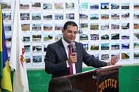 Câmara Municipal de Buritis realizou nesta segunda-feira (04 de Fevereiro), a sua primeira Sessão Ordinária sob o comando do Presidente Marcelo Mendes Pedro.