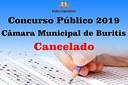 Cancelamento do Concurso Público 2019