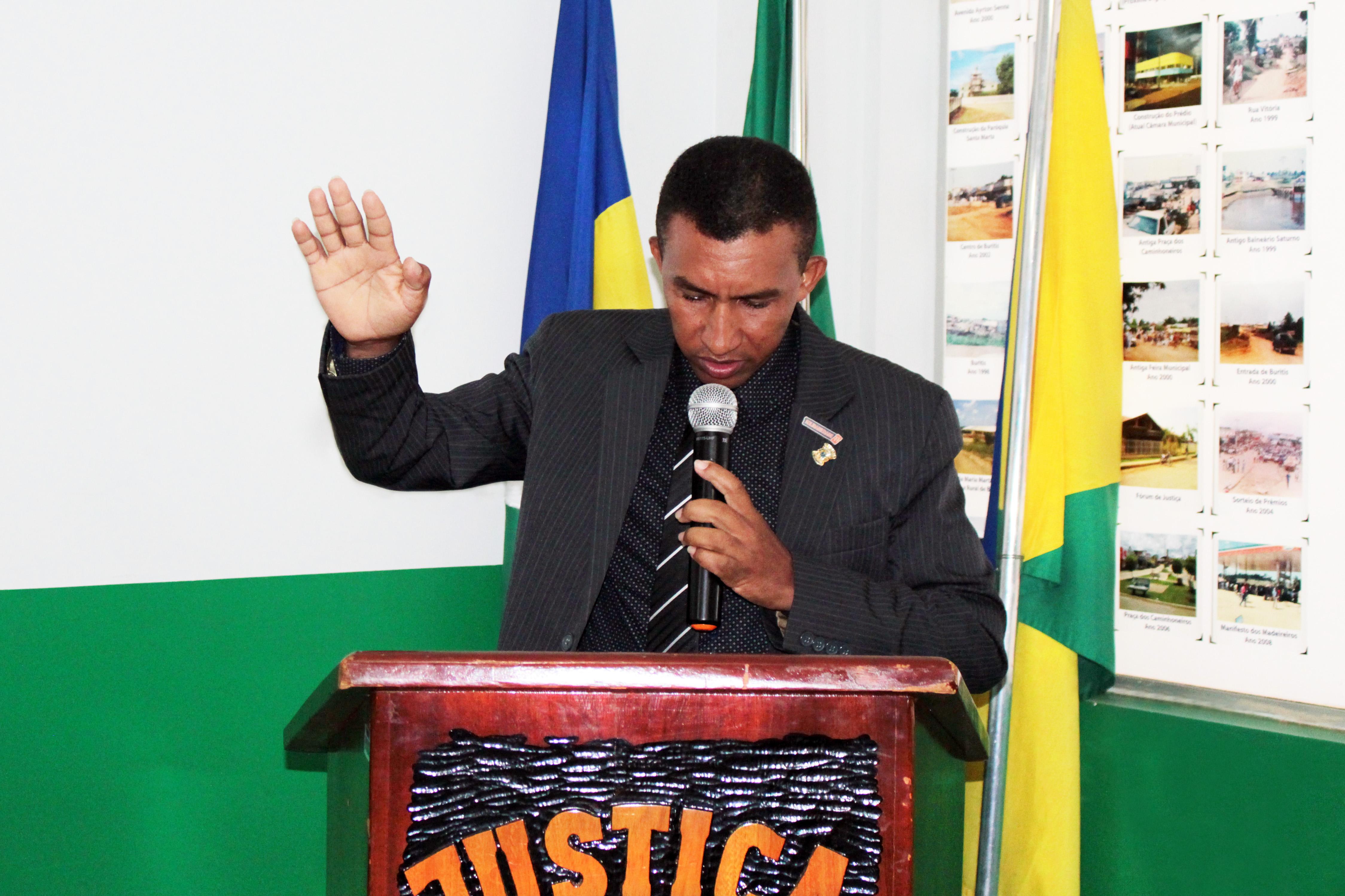 Troca de Presidência na Câmara Municipal de Buritis
