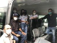 Vereador Adriano Almeida e Renato Leitão participam de Solenidade de entrega de Van para Apae de Buritis