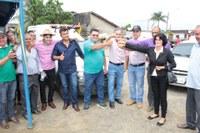 Vereadora Luzia recebe ambulância para o município