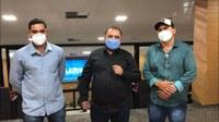 Vereadores Renato Leitão, Elizeu Quevedo e Lucas da 50 acompanharam votação do projeto de lei PLC 080