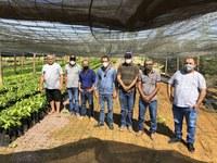 Vereadores visitam propriedade rural produtora de cacau em Buritis